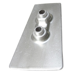 Tecnoseal Zinc Cavitation Plate Anode f\/Volvo DPH Outdrives [00733]