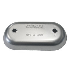 "Tecnoseal Magnesium Hull Plate Anode 8-3\/8"" x 4-1\/32"" x 1-1\/16"" [TEC-Z-406MG]"