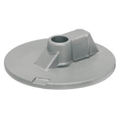 Tecnoseal Mercury\/Mercruiser Zinc Flat Trim Tab Anode - No Threads [00835]