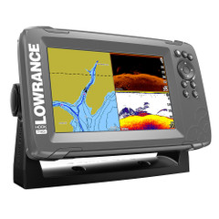 "Lowrance HOOK²-7 7"" Chartplotter\/Fishfinder SplitShot Transom Mount Transducer w\/Nav+ Chart [000-14290-001]"