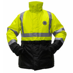 Mustang High Visibility Flotation Coat - Fluorescent Yellow\/Green - Large [MC1506T3-L-239]