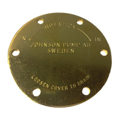 Johnson Pump End Cover F4\/F5B [01-42398]