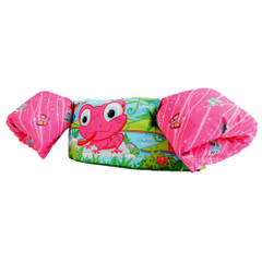 Puddle Jumper Kids Deluxe Life Jacket - Pink Frog - 30-50lbs [3000004729]