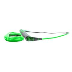 Hyperlite Team Handle w\/75 Silicone X-Line Combo - Green [77000403]