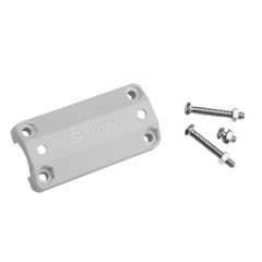 "Scotty 242 Rail Mount Adapter - 7\/8""-1"" - White [242-WH]"
