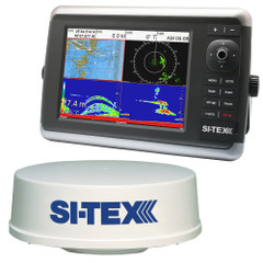 SI-TEX NavStar 10R GPS Chartplotter, Sonar, Radar System w\/MDS-12 Radar and internal GPS Antenna [NAVSTAR 10R]