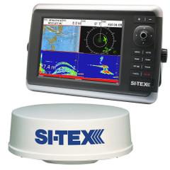 SI-TEX NavStar 12R GPS Chartplotter, Sonar, Radar System w\/MDS-12 Radar [NAVSTAR 12R]