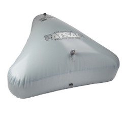 FATSAC Open Bow Triangle Fat Sac Ballast Bag - 650lbs - Gray [W706-GRAY]