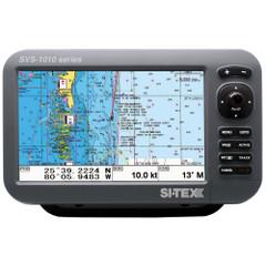 "SI-TEX SVS-1010CE 10"" Chartplotter w\/External GPS Antenna & Navionics+ Card [SVS-1010CE]"