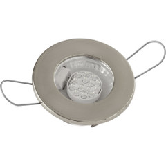 Sea-Dog LED Overhead Light - Brushed Finish - 60 Lumens - Clear Lens - Stamped 304 Stainless Steel [404230-3]