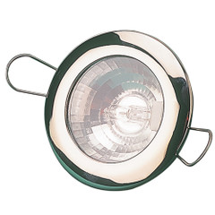 """Sea-Dog LED Overhead Light 2-7\/16"""" - Brushed Finish - 60 Lumens - Clear Lens - Stamped 304 Stainless Steel [404330-3]"""