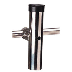 "Sea-Dog Rail Mount Adjustable Rod Holder Fits Diameter 1-11\/16"" - Formed  Cast 316 Stainless Steel [327175-1]"