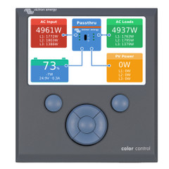 Victron Color Control GX Monitor - Button Control [BPP010300100R]