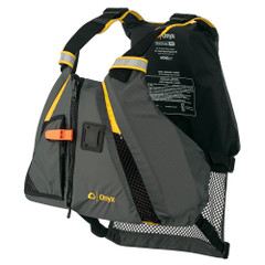Onyx Movement Dynamic Paddle Sports Vest - Yellow\/Grey - Medium\/Large [122200-300-040-18]
