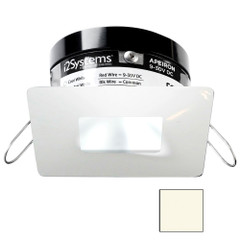 i2Systems Apeiron PRO A503 - 3W Spring Mount Light - Square\/Square - Neutral White - White Finish [A503-34BBR]