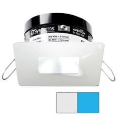 i2Systems Apeiron PRO A503 - 3W Spring Mount Light - Square\/Square - Cool White  Blue - White Finish [A503-34AAG-E]