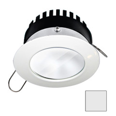 i2Systems Apeiron PRO A506 - 6W Spring Mount Light - Round - Cool White - White Finish [A506-31AAG]
