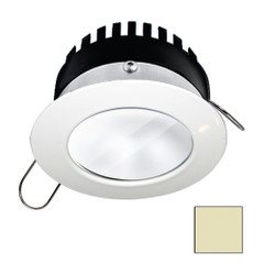 i2Systems Apeiron PRO A506 - 6W Spring Mount Light - Round - Warm White - White Finish [A506-31CBBR]