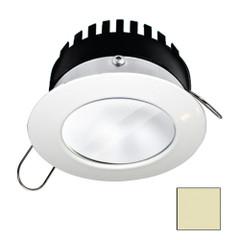 i2Systems Apeiron PRO A506 - 6W Spring Mount Light - Round - Warm White - White Finish [A506-31CBBR]