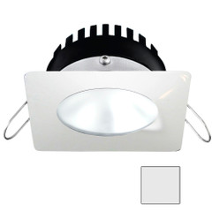 i2Systems Apeiron PRO A506 - 6W Spring Mount Light - Square\/Round - Cool White - White Finish [A506-32AAG]
