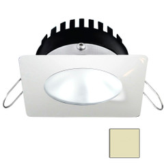 i2Systems Apeiron PRO A506 - 6W Spring Mount Light - Square\/Round - Warm White - White Finish [A506-32CBBR]