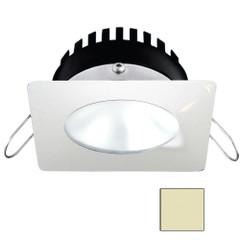 i2Systems Apeiron PRO A506 - 6W Spring Mount Light - Square\/Round - Warm White - White Finish [A506-32CBBR]