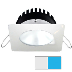 i2Systems Apeiron PRO A506 - 6W Spring Mount Light - Square\/Round - Cool White  Blue - White Finish [A506-32AAG-E]
