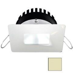 i2Systems Apeiron PRO A506 - 6W Spring Mount Light - Square\/Square - Warm White White - White Finish [A506-34CBBR]
