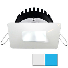 i2Systems Apeiron PRO A506 - 6W Spring Mount Light - Square\/Square - Cool White  Blue - White Finish [A506-34AAG-E]