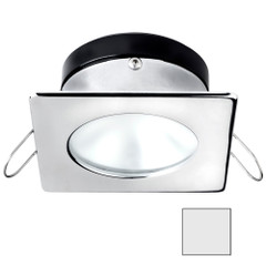 i2Systems Apeiron A1110Z - 4.5W Spring Mount Light - Square\/Round - Cool White - Chrome Finish [A1110Z-12AAH]