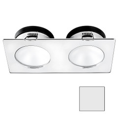 i2Systems Apeiron A1110Z - 4.5W Spring Mount Light - Double Round - Cool White - Chrome Finish [A1110Z-15AAH]