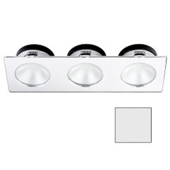 i2Systems Apeiron A1110Z - 4.5W Spring Mount Light - Triple Round - Cool White - Chrome Finish [A1110Z-16AAH]