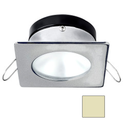 i2Systems Apeiron A1110Z - 4.5W Spring Mount Light - Square\/Round - Warm White - Brushed Nickel Finish [A1110Z-42CAB]