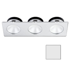 i2Systems Apeiron A1110Z - 4.5W Spring Mount Light - Triple Round - Cool White - Brushed Nickel Finish [A1110Z-46AAH]