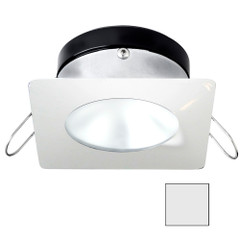 i2Systems Apeiron A1110Z - 4.5W Spring Mount Light - Square\/Round - Cool White - White Finish [A1110Z-32AAH]