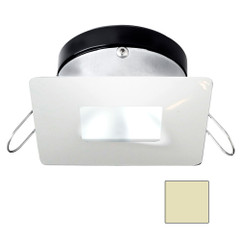 i2Systems Apeiron A1110Z - 4.5W Spring Mount Light - Square\/Square - Warm White - White Finish [A1110Z-34CAB]