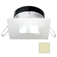 i2Systems Apeiron A1110Z - 4.5W Spring Mount Light - Square\/Square - Warm White - White Finish [A1110Z-34CAB]