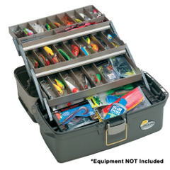 Plano Guide Series Tray Tackle Box - Graphite\/Sandstone [613403]