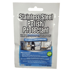 "Flitz Stainless Steel Polish 8"" x 8"" Towelette Packet [SS 01301]"
