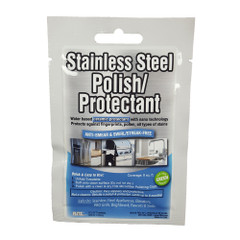 "Flitz Stainless Steel Polish 8"" x 8"" Towelette Packet *Case of 24* [SS 01301CASE]"
