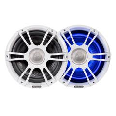 "FUSION FL88SPW Signature Series Speakers 8.8"" Sport Grill - (Pair) White [010-01826-00]"