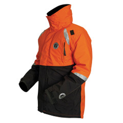 Mustang Catalyst Flotation Coat - XXX-Large - Orange\/Black [MC5446-XXXL-33]