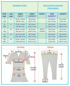 Standard Size Chart