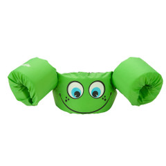 Puddle Jumper Kids Life Jacket - Green Smile - 30-50lbs [3000001298]