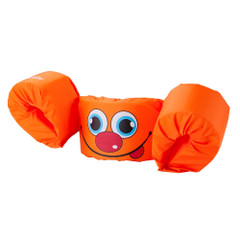 Puddle Jumper Kids Life Jacket - Orange Smile - 30-50lbs [3000001300]