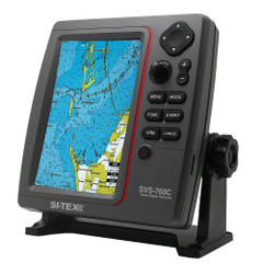 SI-TEX SVS-760C Digital Chartplotter w\/Navionics+ Flexible Coverage [SVS-760C]