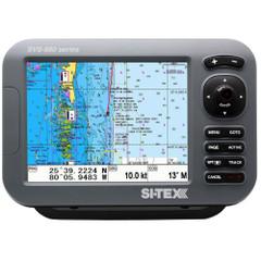 "SI-TEX SVS-880C 8"" Chartplotter w\/Internal GPS Antenna & Navionics+ Card [SVS-880C]"