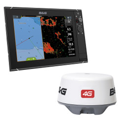 "BG Zeus3 12"" Multifunction Display  4G Radar Bundle [000-13804-001]"