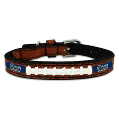 St. Louis Rams Classic Leather Football Collar, Medium