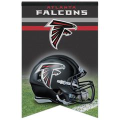 """WinCraft NFL Atlanta Falcons WCR94124013 Premium Felt Banner, 17"""" x 26"""""""